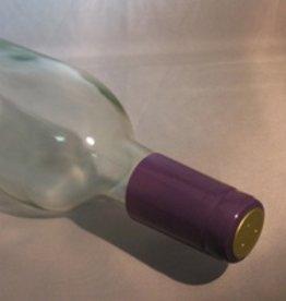 LDC Purple PVC Shrink Capsules 30 Pack