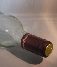 LDC Burgundy/Gold Grapes PVC Shrink Capsules 30 Pack