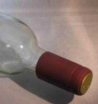 LDC Burgundy PVC Shrink Capsules 30 Pack