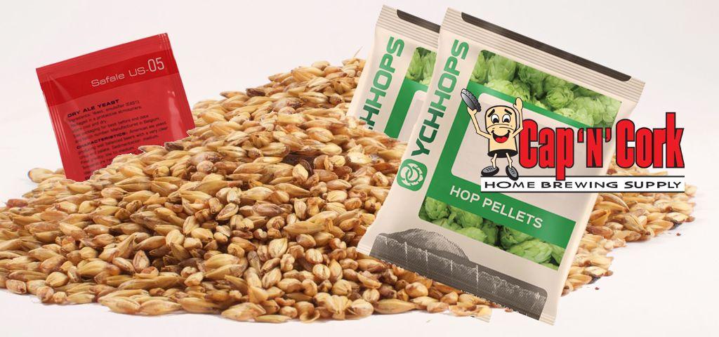 CNC Vegas Gold All Grain Ingredient Kit
