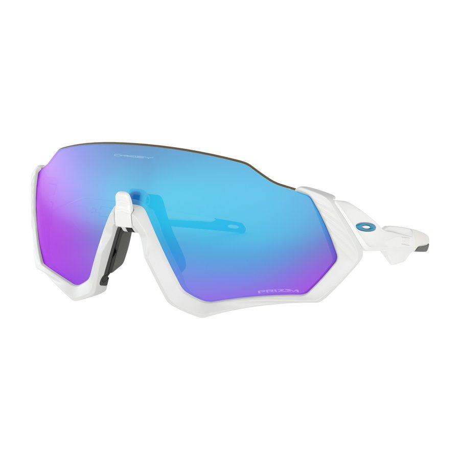 OAKLEY Flight Jacket White Prizm