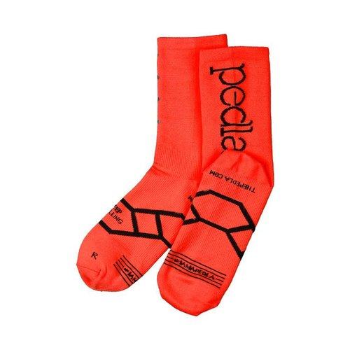 Pedla Pedla Socks - Orange