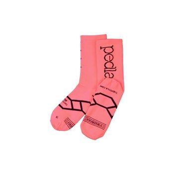 Pedla Pedla Socks - Coral