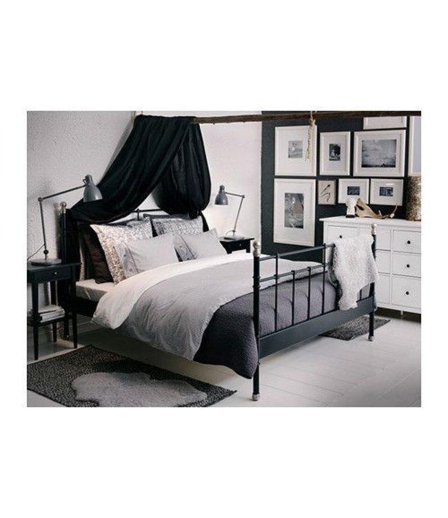 Ikea Bed Black
