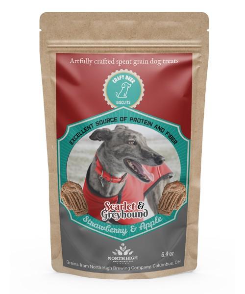 Craft Beer Biscuits, Scarlet & Greyhound