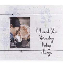 PALLET BOX FRAME - I LOVED YOU YESTERDAY