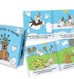 BEREAVEMENT BOOK - PAW PRINTS IN HEAVEN