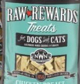 Northwest Naturals Raw Rewards Freeze Dried Chicken Breast Bit for Cats & Dogs