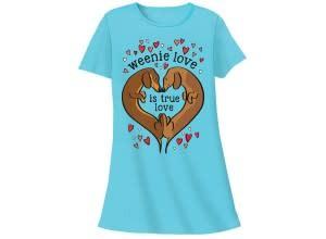 Weenie Love Sleep Shirt