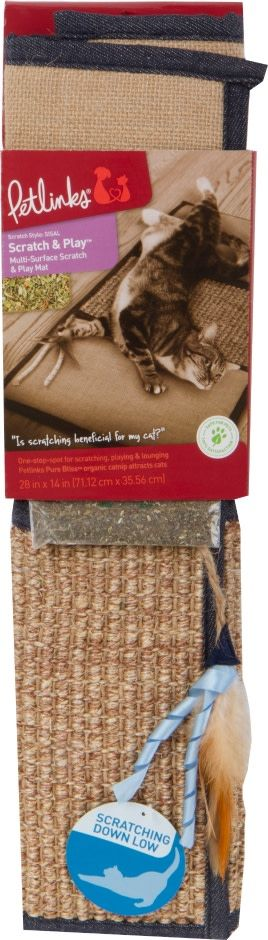SCRATCH & PLAY MAT CAT SCRATCHER