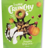 Fromm 6 oz Dog Crunchy O Treats Pumpkin Kran Pow