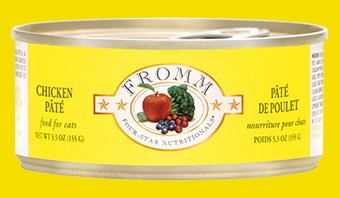 Fromm 5.5 oz Cat Can Chicken Pate GF