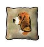 Tapestry Pillow -Beagle