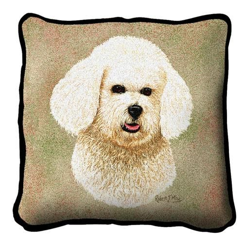 Tapestry Pillow -Bichon Frise
