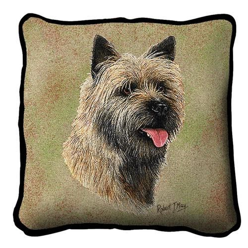 Tapestry Pillow -Cairn Terrier