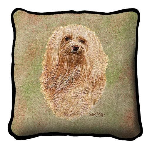 Tapestry Pillow -Havanese