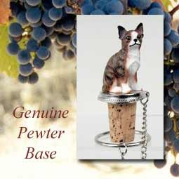Bottle Topper-Chihuahua Brindle