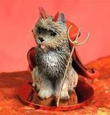Devil Ornament Cairn Terrier