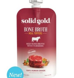 Solid Gold Beef Bone Broth w/Turmeric