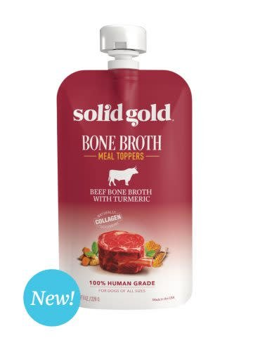 Solid Gold Beef Bone Broth w/Turmeric