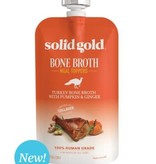 Solid Gold Turkey Bone Broth w/Pumpkin & Ginger
