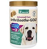 NaturVet 180 ct ArthriSoothe-GOLD Advanced Joint Health Care Soft Chew Supplement for Dogs and Cats