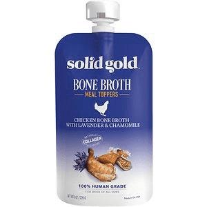 Solid Gold Chicken Bone Broth w/Lav & Chamomile
