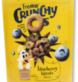 Fromm 6 oz Dog Crunchy O Treats Blueberry Blasts