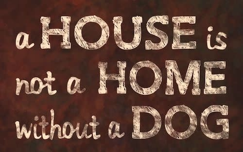 Sign-A house is not a Home