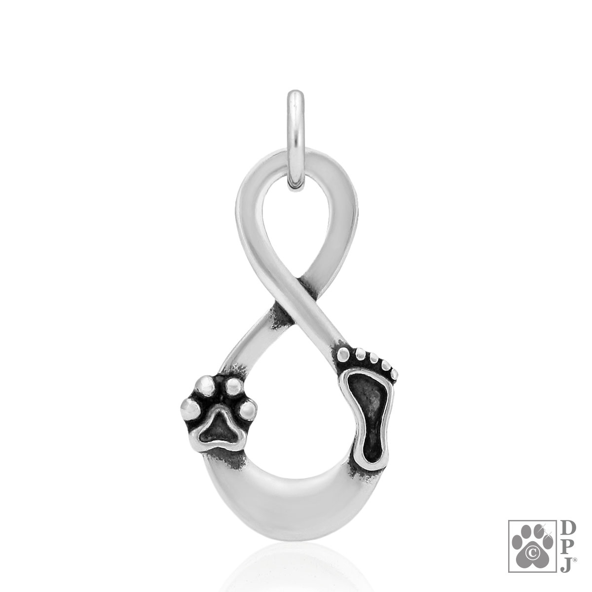 Sterling Silver Our Lives Cross Paths, Pendant
