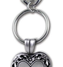 Paw Memorial Locket & Key Chain