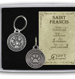 Saint Francis Dog Tag