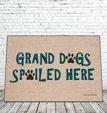 Door Mat - Grand dogs spoiled here