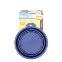 Silicone Round Large Travel Bowl For Dogs & Cats
