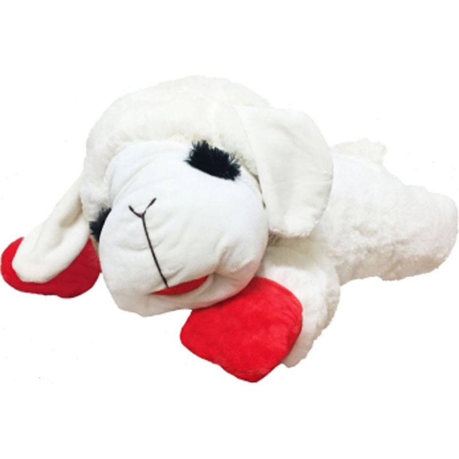 "24"" LAMB CHOP DOG TOY"