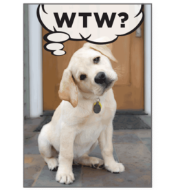 BIRTHDAY - WTW? WHAT THE WOOF?