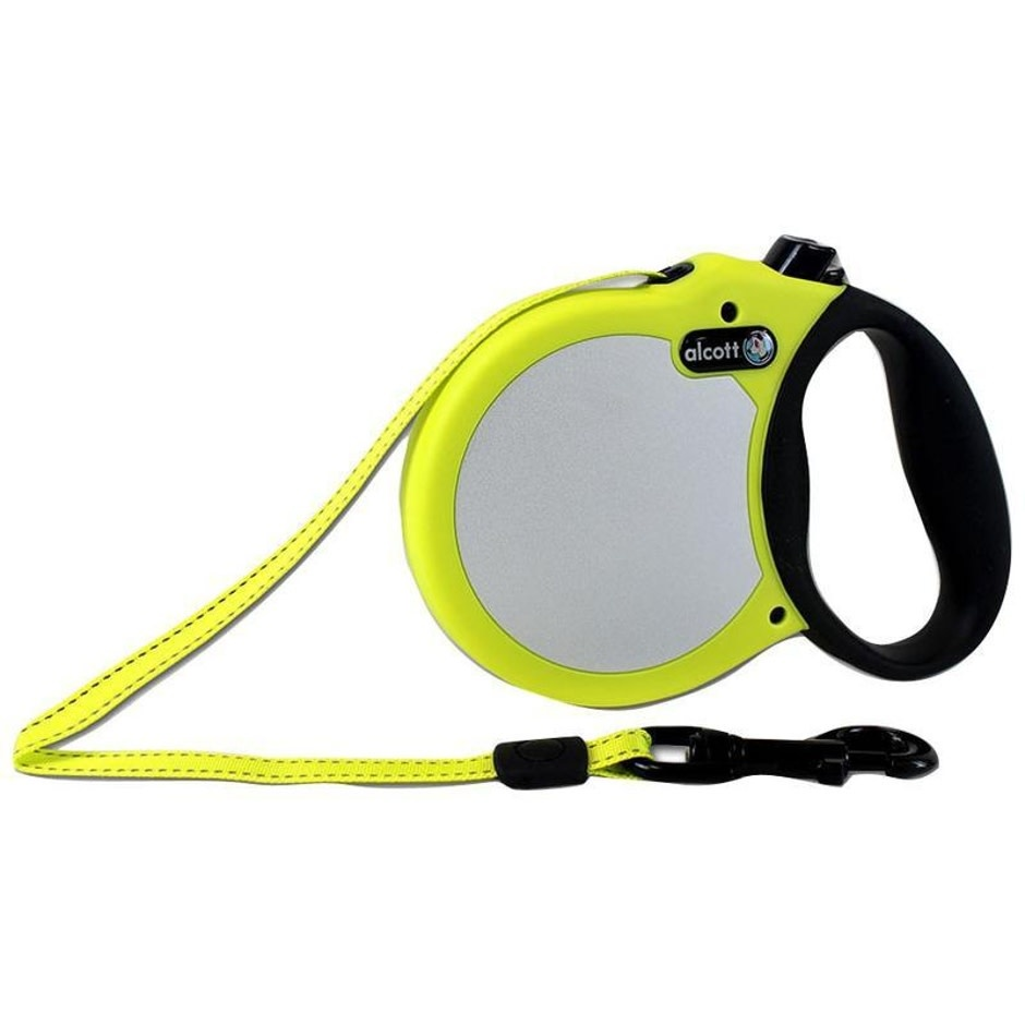 Small ALCOTT RETRACTABLE LEASH UP TO 45 lb - 16 ft
