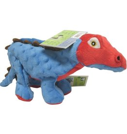 Godog DINOS SPIKE THE STEGOSAURUS DOG TOY