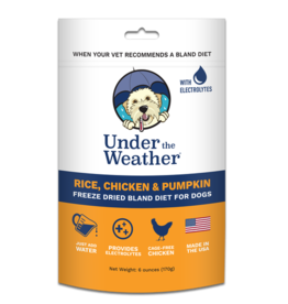 Under the Weather Rice, Chicken & Pumpkin Freeze Dried Bland Diet