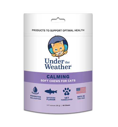 Under the Weather Calming for Cats
