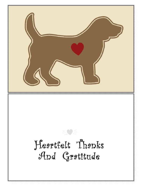 THANK YOU - HEARTFELT THANKS.