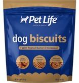 Pet Life PEANUT BUTTER/MOLASSES BISCUIT-4LB