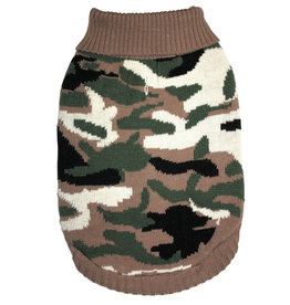 L-Camouflage Sweater