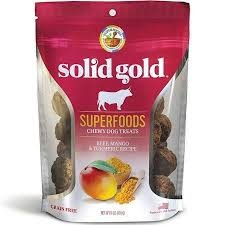 Solid Gold Superfoods, Beef, Mango & Turmeric
