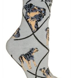 Catahoula Leopard Dog Socks