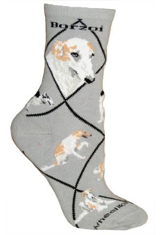 Borzoi Socks