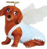Doxie Angel Figurine