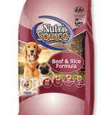 Nutri Source 5 Lb Dog Dry Beef & Rice