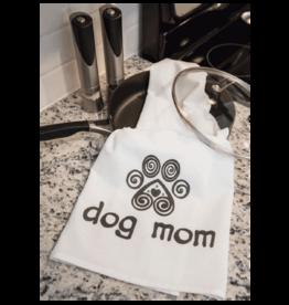 Dish Towel - DOG MOM WITH HEART