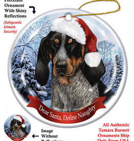 Pet Gifts Round Ornament Coonhound